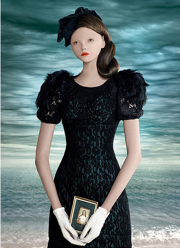 Editorial inspirado em Mark Ryden