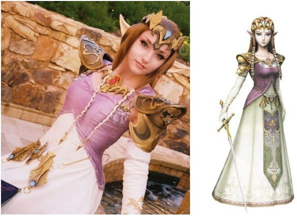 Princesa Zelda - Cosplay