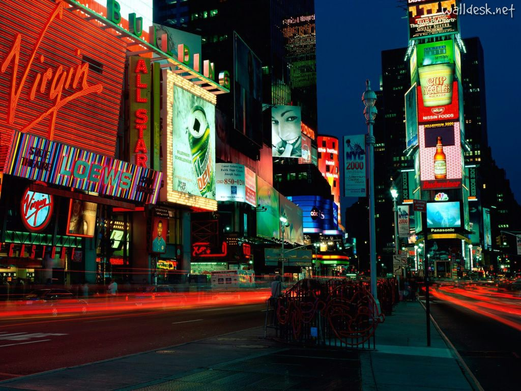 Times-Square,-New-York,-New-York