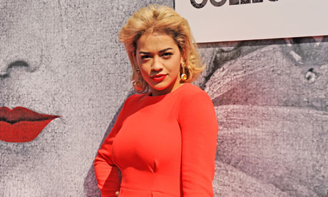 Rita Ora at British Designers' Collective popup store