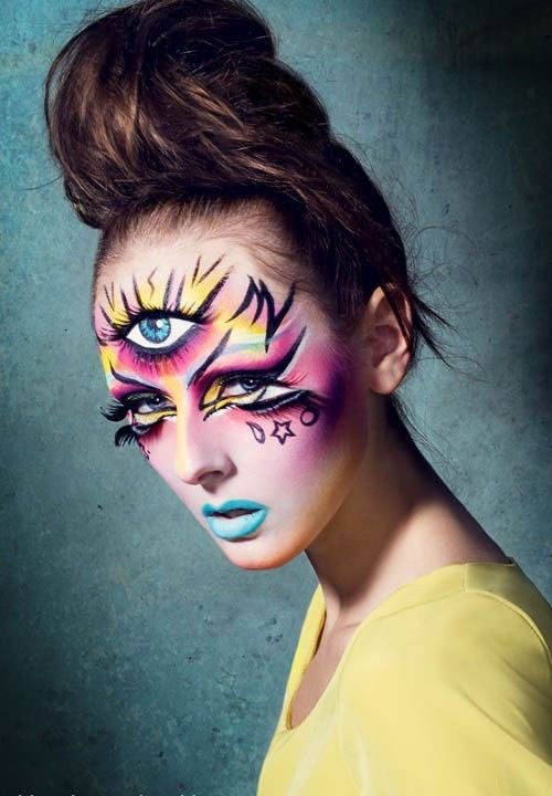 15-Scary-Halloween-Zombie-Eye-Make-Up-Looks-Ideas-For-Girls-2014-5