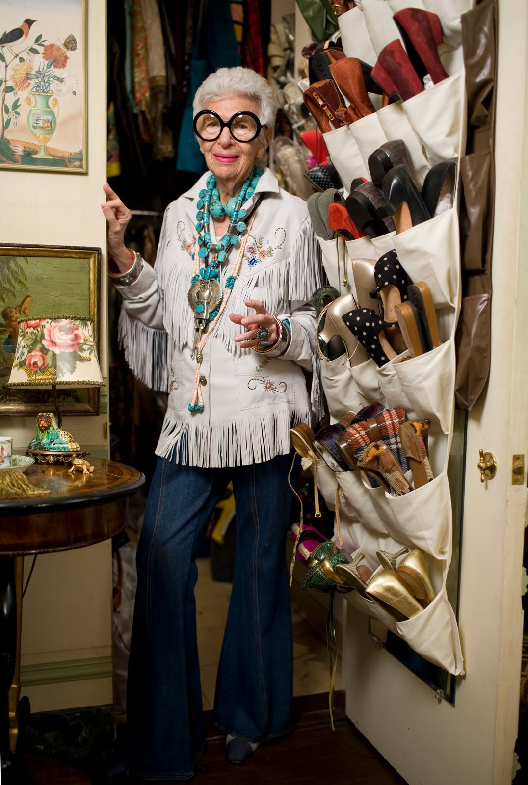 Iris Apfel, 2009 Photo © Peabody Essex Museum