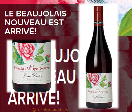 Beaujolais Nouveau 2015 – Charles vinho Fashion bubbles1