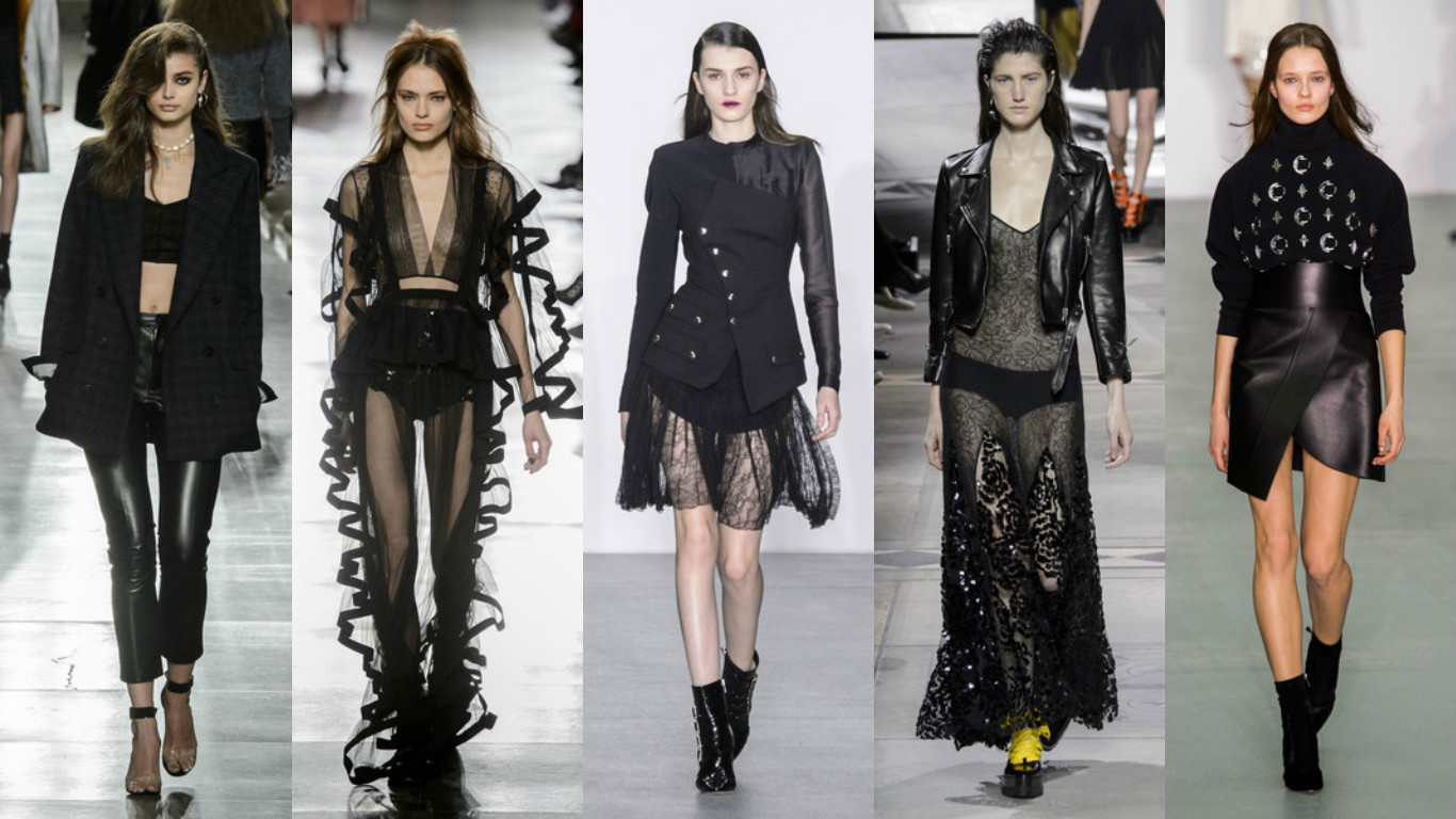 London Fashion Week – Estilo gótico ressurge nas passarelas londrinas