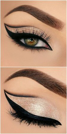 cut crease make