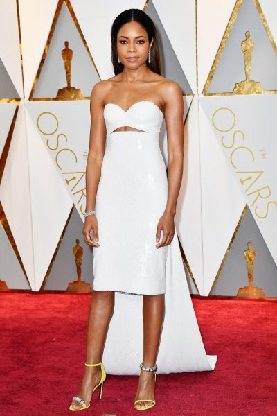 HOLLYWOOD, CA - FEBRUARY 26: Actor Naomie Harris attends the 89th Annual Academy Awards at Hollywood & Highland Center on February 26, 2017 in Hollywood, California. (Photo by Frazer Harrison/Getty Images)
