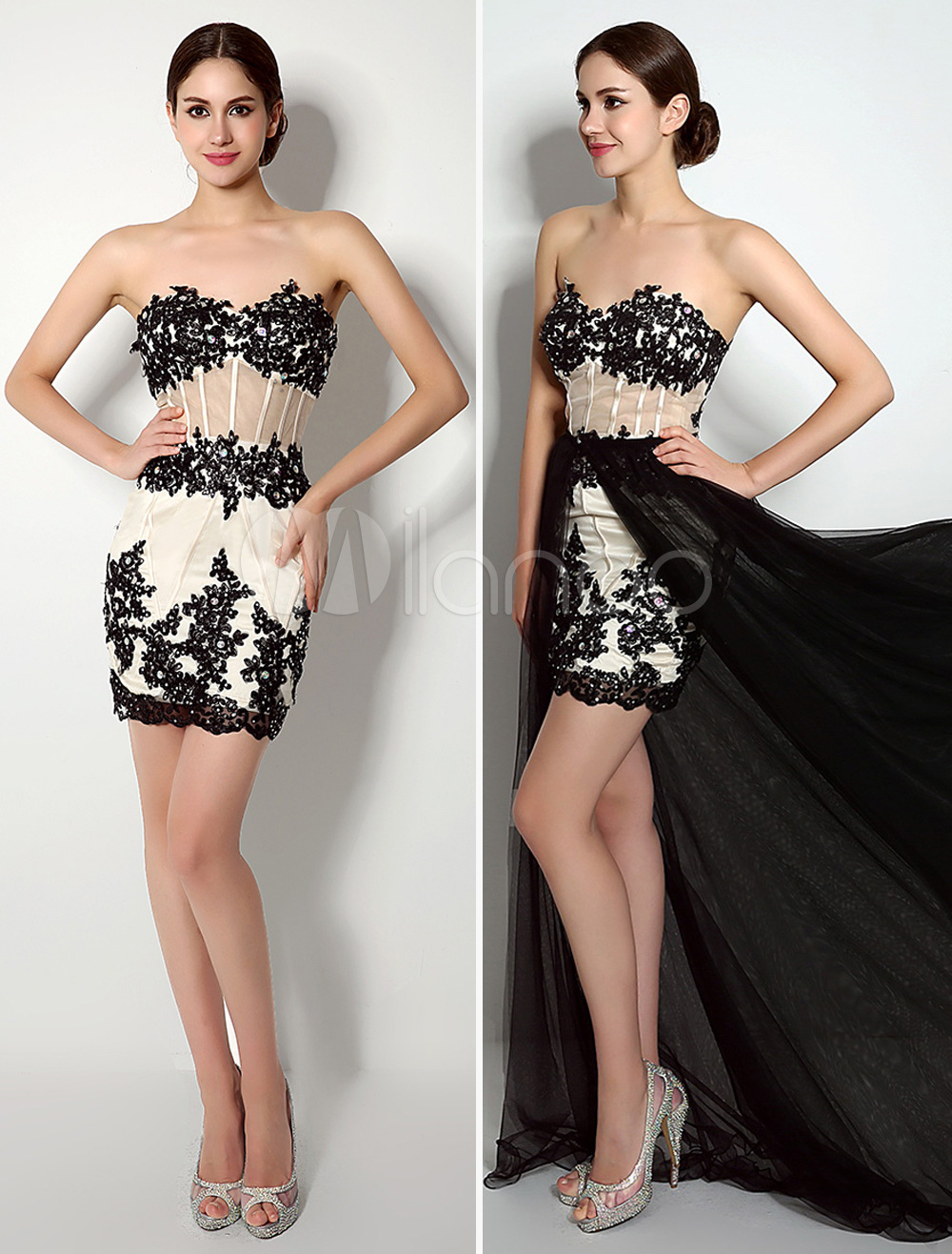 Black-Applique-Dress-with-Removable-Layed-Skirt-532545-2694717