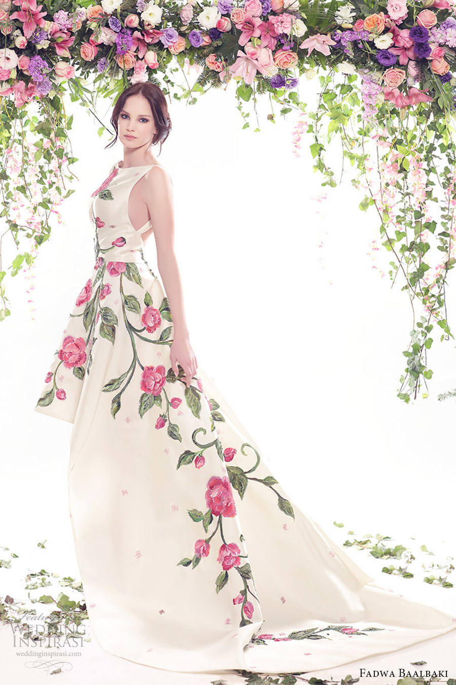 fadwa-baalbaki-spring-2016-couture-jewel-neck-ball-gown-multi-color-floral-print-mv