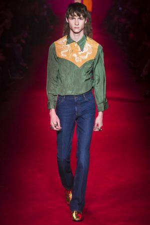 GUCCI estilo country masculino