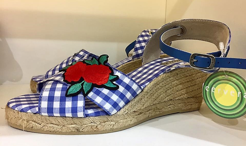 Espadrille Xadrez Vichy - Sapatos do verão 2018 - francal shoes Brazil (10)