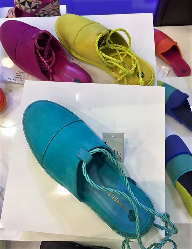 Mules Coloridas - Sapatos do verão 2018 - francal shoes Brazil (205)