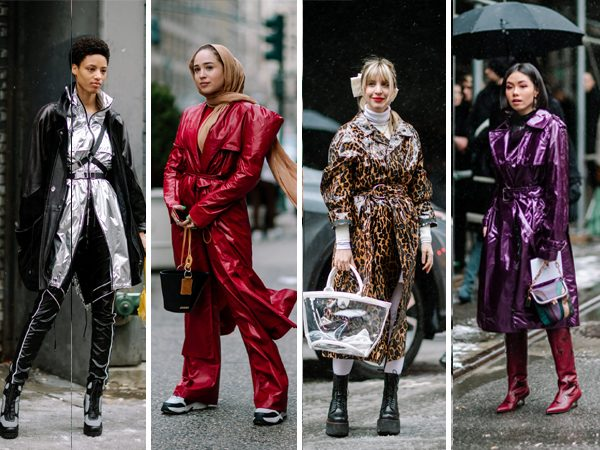 street style NYFW Inverno 2019 - trench coat